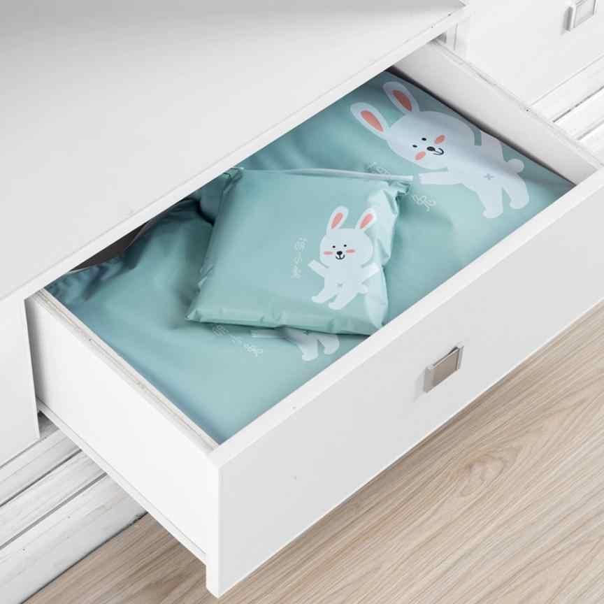 3 قطعة السفر الإبداعية المحمولة متنوعة تخزين أكياس الكرتون نمط عملي حزام مقاوم للماء أكياس خزانة ملابس 62