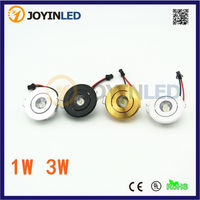 Mini foco de techo de LED Downlight 3W luz LED para armario Mini LED para interiores Downlight AC90-260V