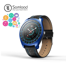 Samload Fashion V10 Smart Watch Real Time Heart Rate Monitoring Movement Pedometer Sleep Tracker For Android