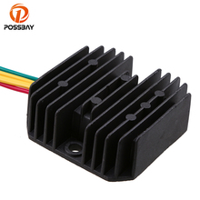 POSSBAY Motorcycle Voltage 12V Regulator Rectifier fit for Honda NX4 Falcon 1999-2008 Racing Bike Aluminum Scooter Rectifier цены