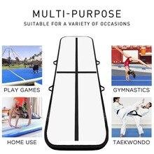 Надувной гимнастический батут, 3 м/4 м x 1 м x 0,2 м, электрический воздушный насос, Домашнее использование/обучение/Черлидинг/пляж