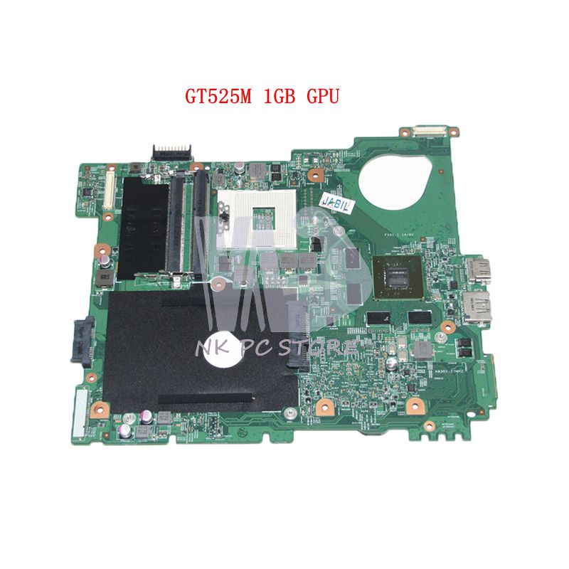 NOKOTION CN-0J2WW8 0J2WW8 J2WW8 Main Board For Dell inspiron N5110 Laptop Motherboard HM67 DDR3 GT525M 1GB nokotion laptop motherboard for dell vostro 3500 cn 0w79x4 0w79x4 w79x4 main board hm57 ddr3 geforce gt310m discrete graphics