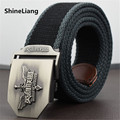 Tactical belt Men women general Chinese elements League of legends Military canvas Width 3.8CM Length 110/140/160CM With jeans