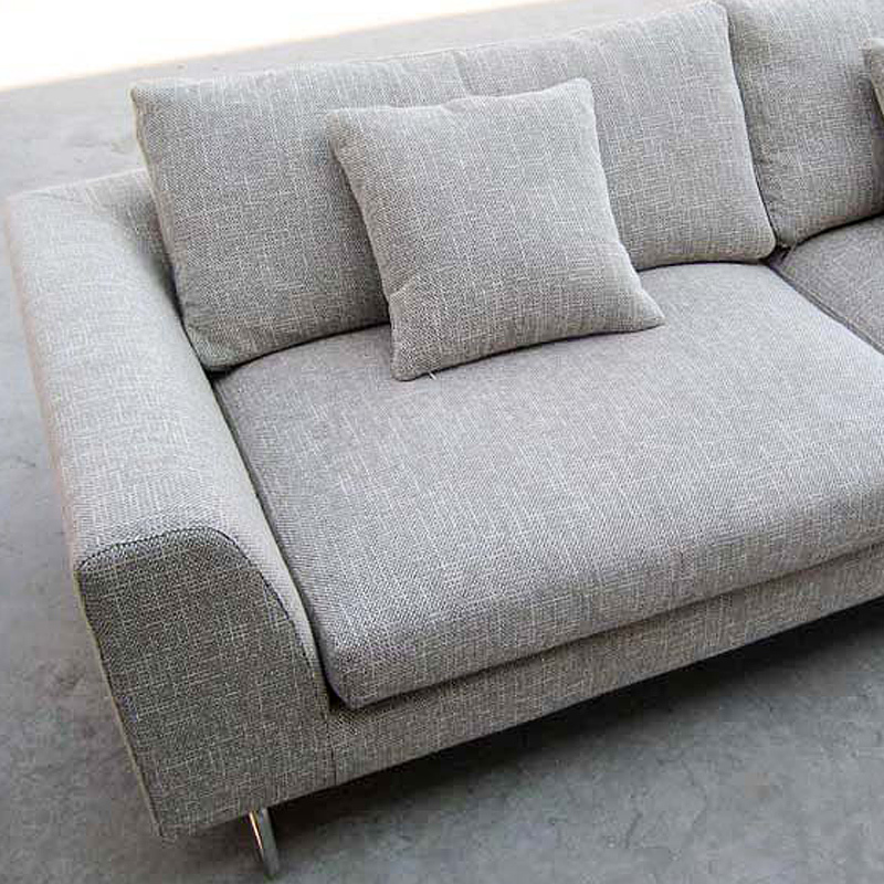 Milan Fashion Home Living Room Sofa Scandinavian Minimalist Big