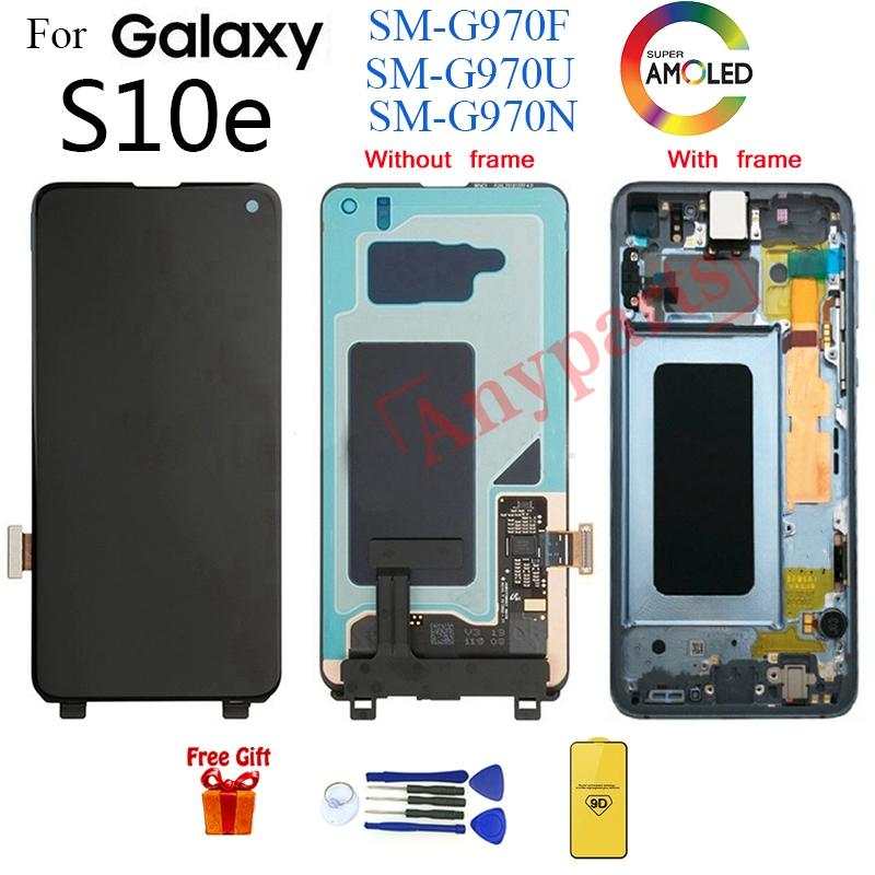 AMOLED For SAMSUNG S10e G970 SM-G970F Display LCD Screen replacement for samsung Galaxy S10e SM-G970U G970N lcd display moduleAMOLED For SAMSUNG S10e G970 SM-G970F Display LCD Screen replacement for samsung Galaxy S10e SM-G970U G970N lcd display module