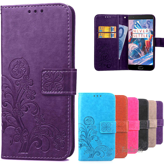 timeless design 45694 8cfb1 Luxury Retro Protective Oneplus 3 Case Flip Cover , Leather Wallet ...