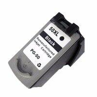 1 Black Ink Cartridges Cartridge For Canon PG 50 PG 50 PG50 Pixma MP160 MP170 MP180