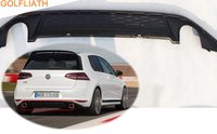 GOLFLIATH OEM Auto Car Rear Bumper Lip Spoiler Diffuser For Volkswagen VW GOLF VII 7 MK7 Standard & GTI bumper