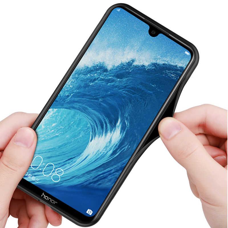 Funda de teléfono con brillo de lámina dorada para Huawei honor 8X max funda de silicona suave para Huawei honor 10 9 lite 8C 8X funda max funda honer8X