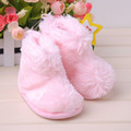 Free Shipping Baby Winter Princess Toddler Infant Boots Soft Sole Fur Shoes Baby Various Cute Warm Enfant Boots