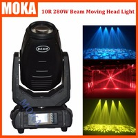 10R 280W Sharpy Beam Moving Head Spot Gobo Light 18 24 Prism Zoom 3D Dmx For