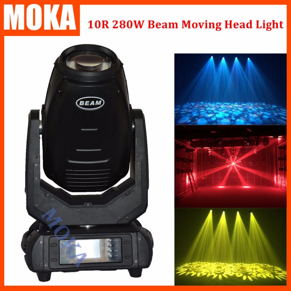 10R 280W Sharpy Beam Moving Head Spot Gobo Light 18/24 Prism Zoom/3D/DMX for Wedding DJ Shows Nightclubs Event Mobile удлинитель zoom ecm 3