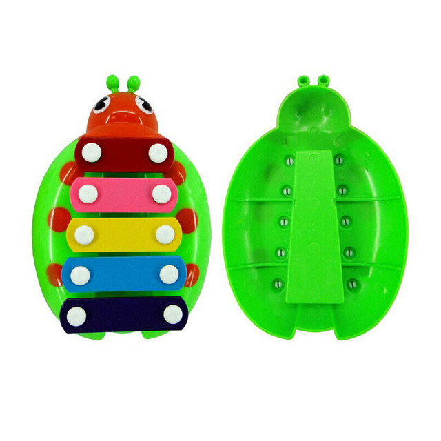 Educational Ladybug Shaped Xylophone