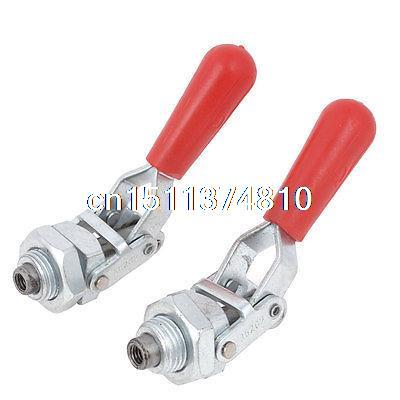 Hand Operated 20mm Plunger Stroke Push Pull Toggle Clamp 91Kg 200 Lbs 2 Pcs