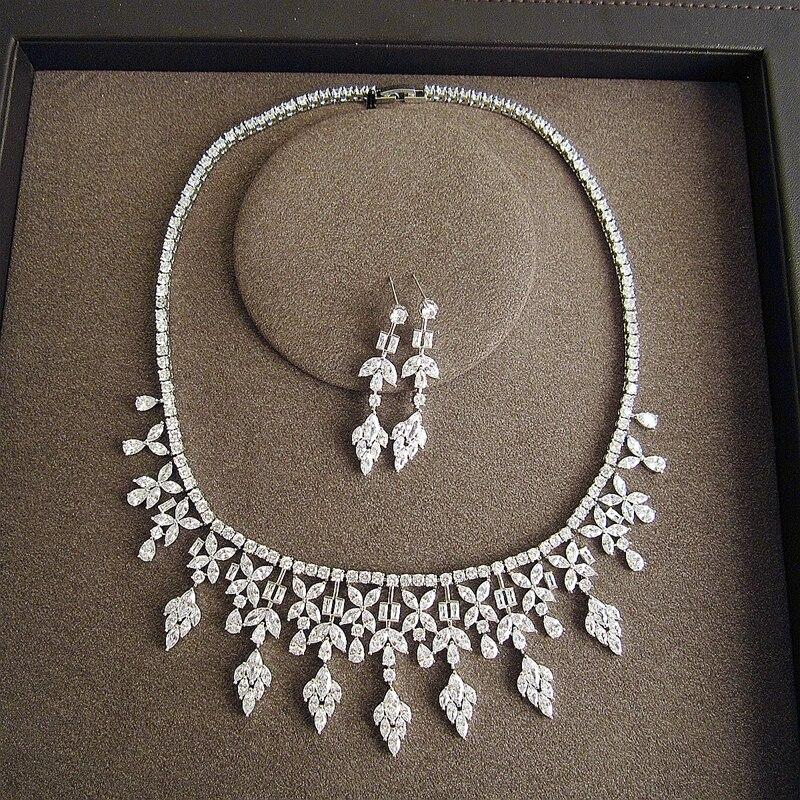 Fashion AAA Cubic Zirconia,Luxuriant Flower modeling set for women,party & wedding,SC007 jh201 1 5cm wide luxuriant flowers