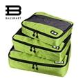 3 Pçs/set Nylon Unisex Cubos de Embalagem Para Roupas Leves Organizadores Saco De Duffle Sacos De Viagem Bagagem Para Camisas À Prova D' Água