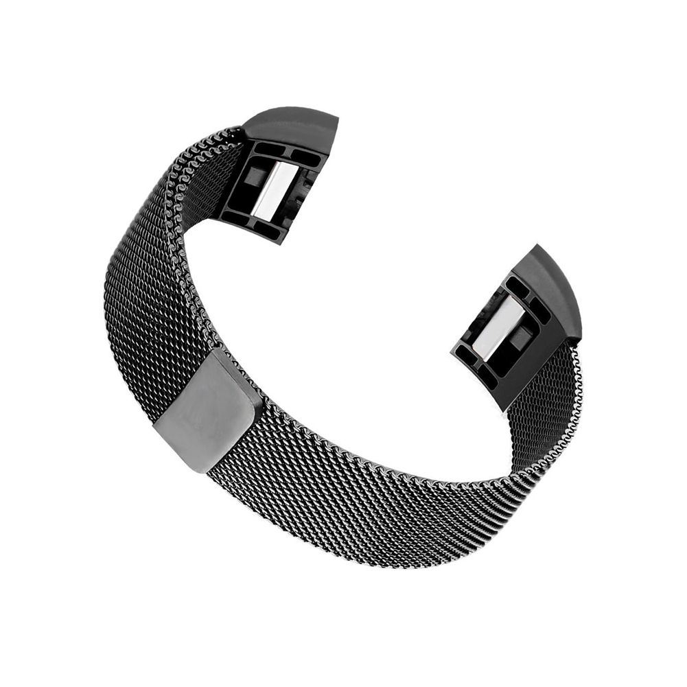 Milanese Loop Stainless Steel Bracelet Smart Watch Strap with Unique Magnet Lock For Fitbit Charge 2 Replacement Wristbands