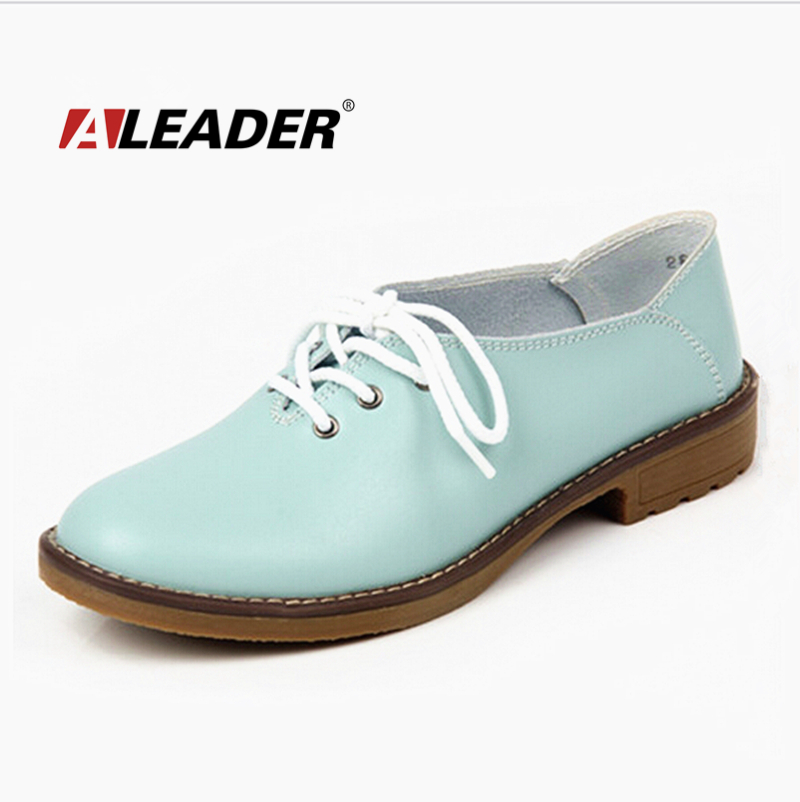 Genuine Leather Oxford Shoes Wos