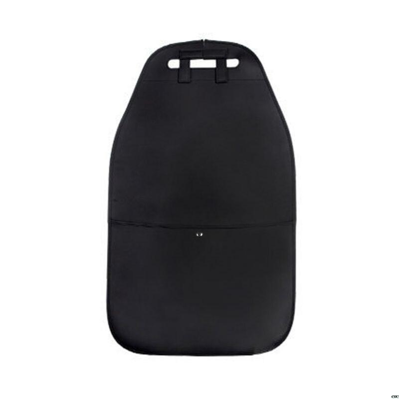 Чехол на заднюю панель автомобильного сиденья с карманом для хранения, органайзер, чехол на заднее сиденье, анти-кик, коврики, износостойкие, для заднего сиденья автомобиля, защита доступа - Цвет: Лаванда