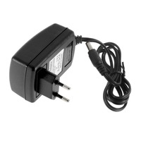 EU Plug AC 100-240V to DC 12V 2A Switching Power Supply Converter Adapter P0.5