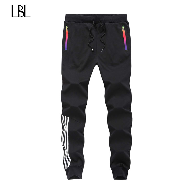 Spring Casual Pants Men Sweat Pants Male Cotton Sportswear Casual Trousers Straight Pants Hip Hop High Street Trousers Pant 2018