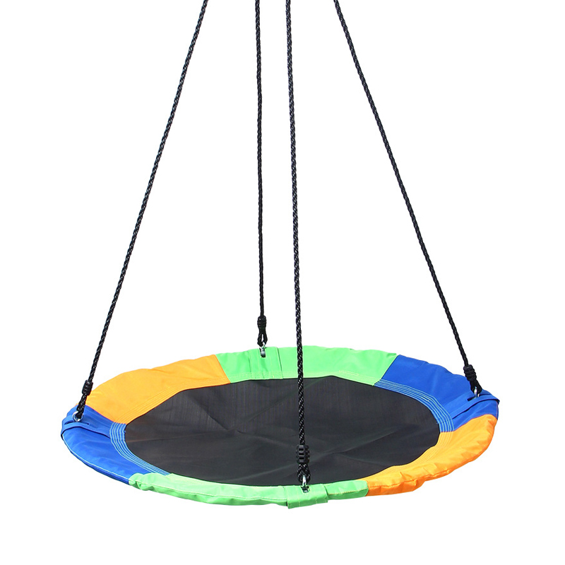 Outdoor Children Swing 900D Oxford Cloth Swing Round Swing ...