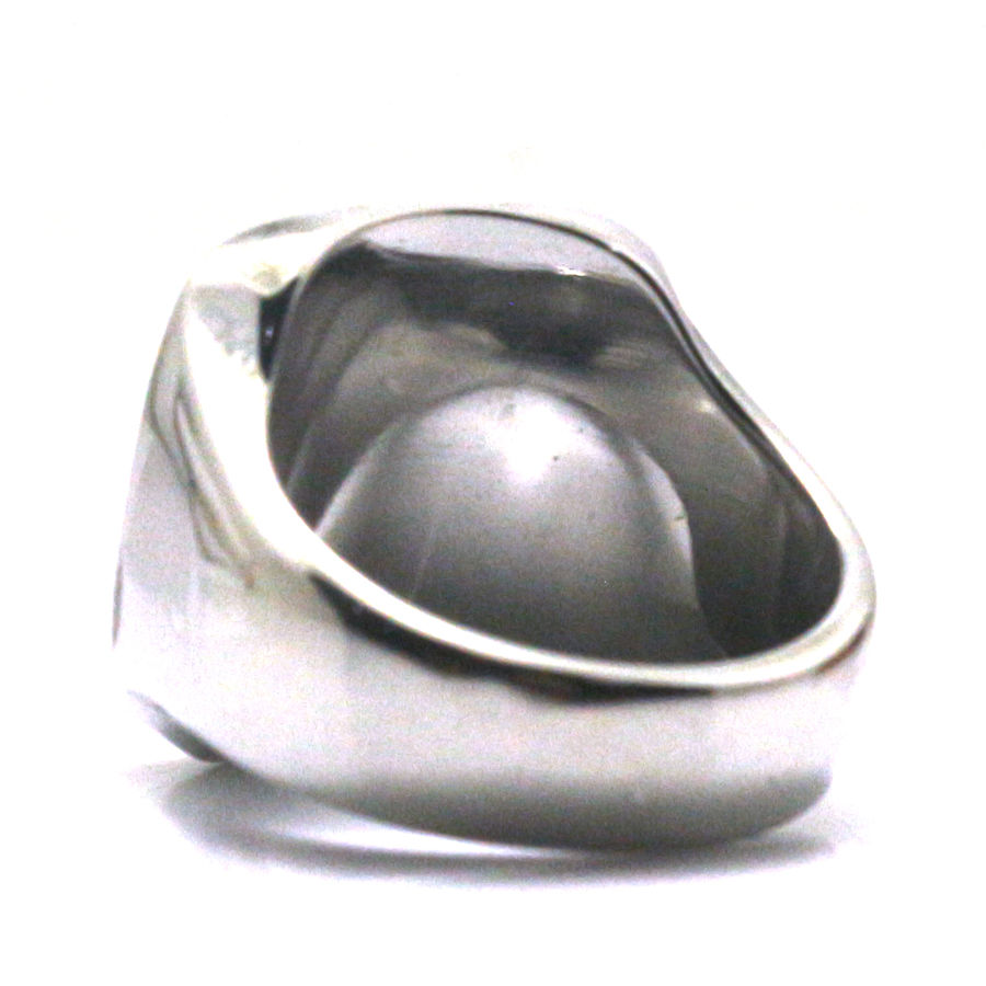 Cool Polishing Silver Squar Crown Ring Men Boy 316L Stainless Steel Rock Party Best Gift Free Shipping