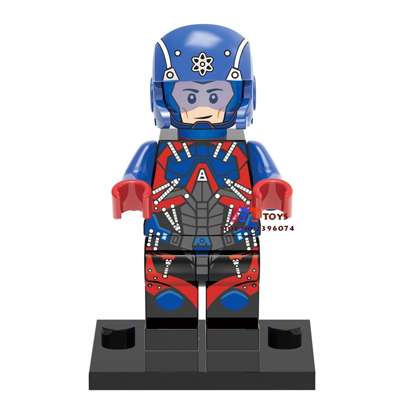 Single Sale star wars superhero DC Atom Flash building blocks model bricks toys for children brinquedos menino loz super mario kids pencil case building blocks building bricks toys school utensil brinquedos juguetes menino jouet enfant