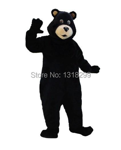 mascot Black Bear mascot costume fancy dress custom fancy costume cosplay theme mascotte costume kits