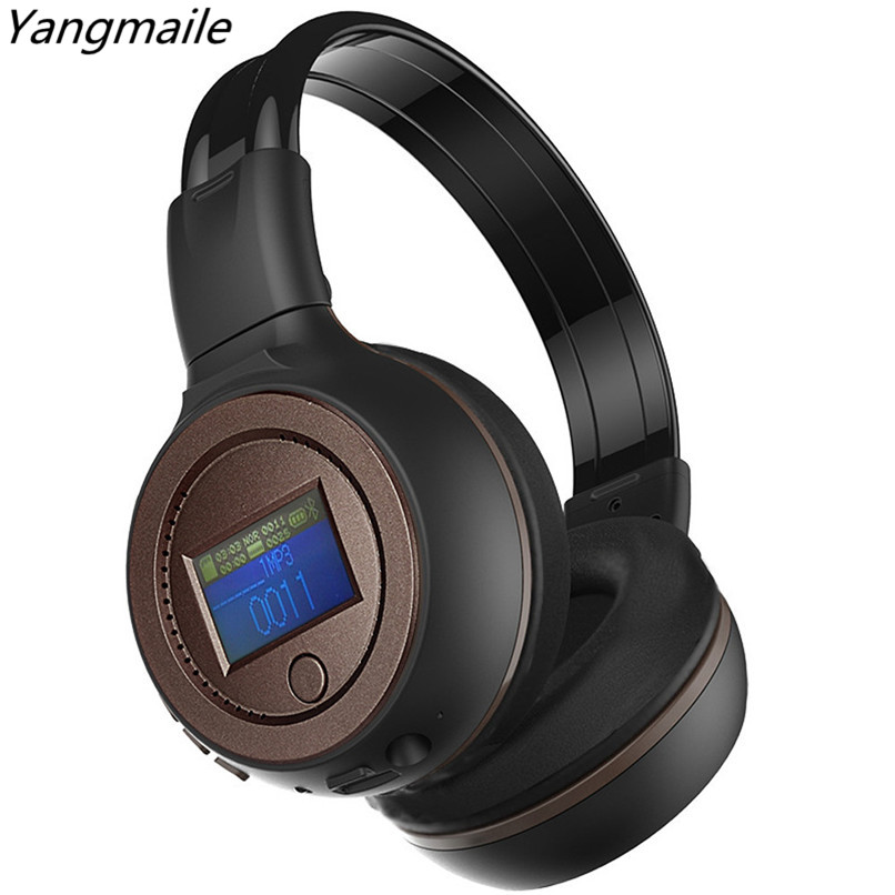 Yangmaile 3.0 Stereo Bluetooth Wireless Headset/Headphones With Call Mic/Microphone for phones music earphone H5TYa rock y10 stereo headphone earphone microphone stereo bass wired headset for music computer game with mic