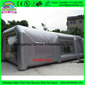 2017 New Design Portable Giant 0.55mm PVC Tarpaulin Inflatable Spray Booth With CE Certified Air Blower