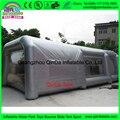 2017 Nuevo Diseño Portátil Gigante 0.55mm PVC Lona Inflable Soplador de Aire de Cabina de pintura Con El CE Certificado