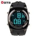 OTS digital-relógio Digital tático esporte LED Relógios homens top marca 10 M relógio militar do exército relógios de pulso À Prova D' Água relógio 2016