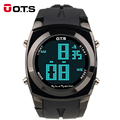 OTS digital-watch Digital tactical sport LED Watches men top brand 10M Waterproof military army watch wrist watches clock 2016