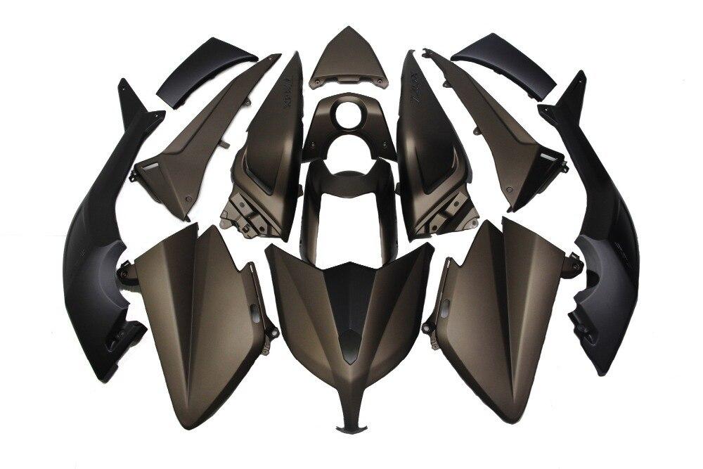 KODASKIN capot de moto Fit Injection boulons de carrosserie de carénage complet pour Yamaha Tmax 530 2012-2014