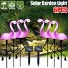 6Pack Solare Flamingo Palo Della Luce Della Lanterna Ad Energia Solare Luci di Via Esterna Impermeabile Giardino Decorativo Prato Lampada Da Giardino-in Lampade LED per giardino da Luci e illuminazione su