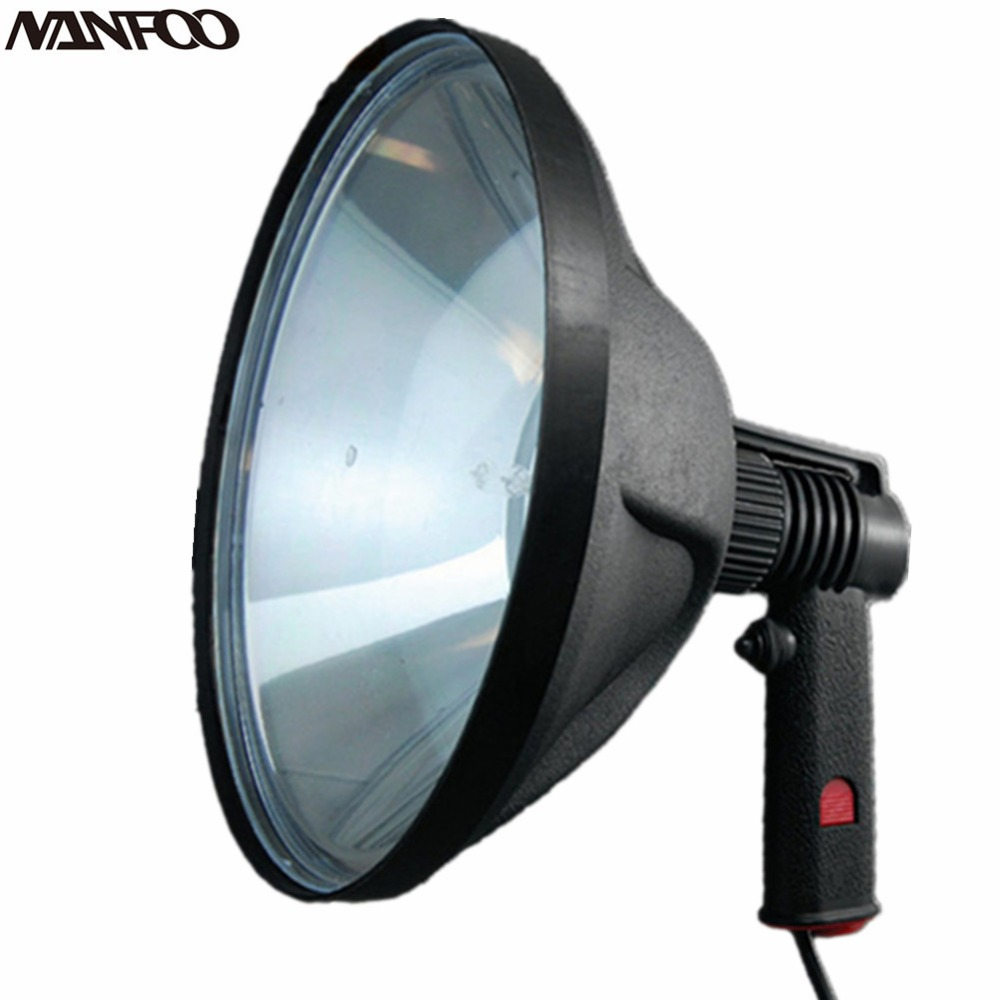 V W De Lumières Halogène Poche 100 Chasse 12 240mm Projecteur Yyf7b6g