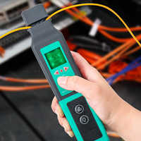 Identificador de fibra óptica Live Fiber identificador óptico 750nm-1700nm SM y MM cable de fibra FF-3306A