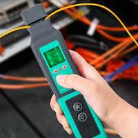 Identificateur de fibres optiques en direct identificateur de fibres optiques 750nm-1700nm SM et MM câble à fibres FF-3306A
