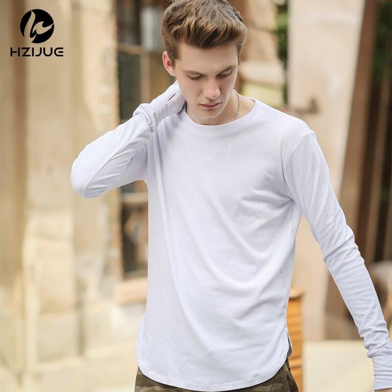 Hzijue 2017 hombre extendido hip hop hiphop largo casual camiseta Top  Camisetas Tees Justin Bieber estilo ropa b0f6cda3d15e3