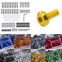 Complete Aluminum Fairing Bolt Screw Fastener Clip for Yamaha MT FZ 07 09 YFZ R1 R6 R25 1 set Motorcycle Parts 5 Colors