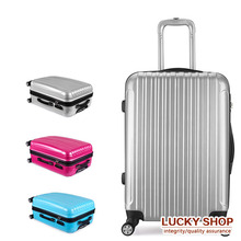 20 24 28   Inch TSA lock hook up PC+ABS aluminum frame universal wheel rolling Carry-Ons luggage travel case Hardside suitcase