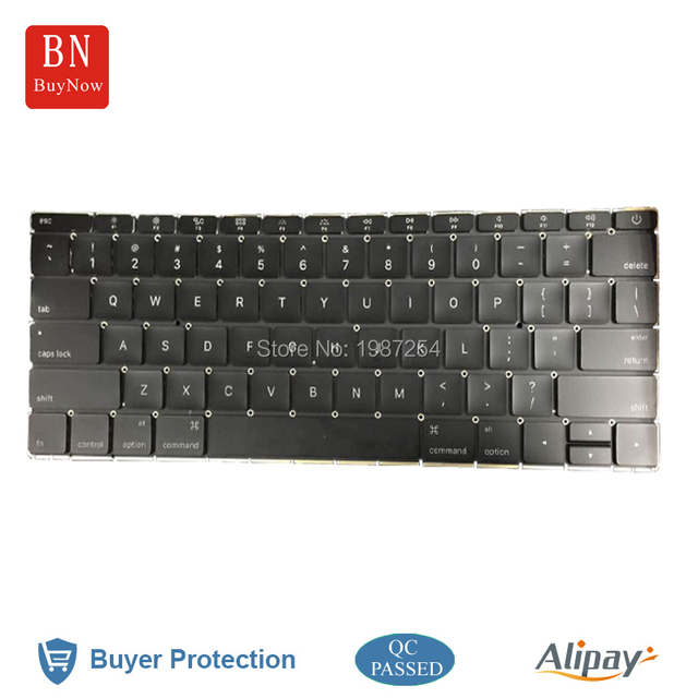 Original New US Keyboard For Apple Macbook 12'' A1534 2015
