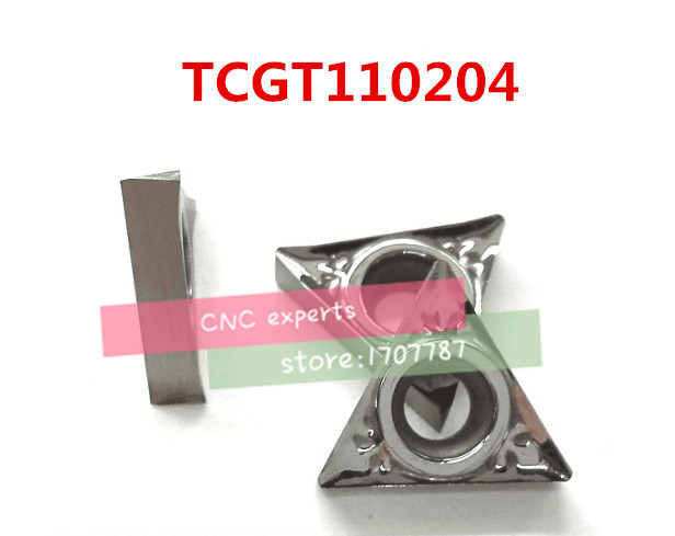 Free Shipping  Aluminum Carbide Insert  TCGT110204, CNC Lathe Tool, Suitable For Aluminum Processing, Insert STFCR/STGCR