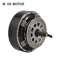 QSMOTOR 8000W 273 50H V3 BLDC brushless electric car hub motor conversion kits with kelly controller