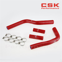 Silicone Radiator Coolant Hose +CLAMPS for Yamaha YZ125 YZ 125 03 04 05 06 07 08 RED