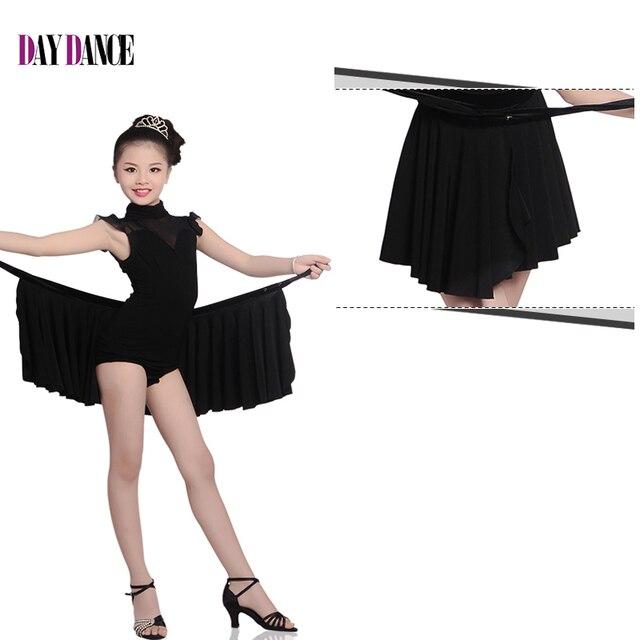 Новый Обувь для девочек Костюмы для латиноамериканских танцев сальса танго платье для танцев детские черные Костюмы для бальных танцев Самба Румба Танец костюм ребенок волшебный 2 шт. коррида Юбки для женщин