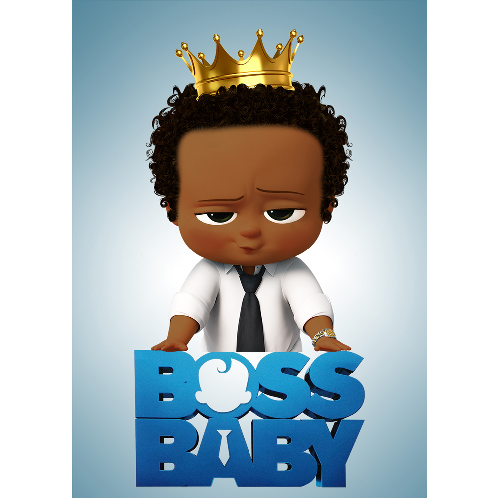 photo Black Baby Prince Image colorwonder little prince with golden crown photography background african american boss baby vinyl backdrop for kids birthday