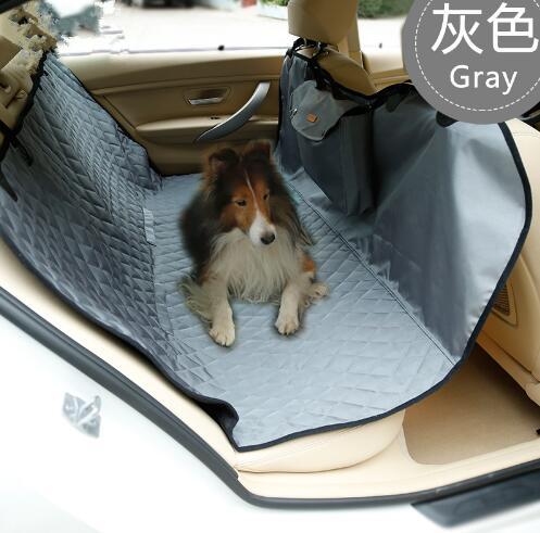 2016 nouveau design chiens multifonction imperméable tapis de voiture fournitures doggy pliable siège de voiture chiot couverture de voiture pet chien produits 1 pièces