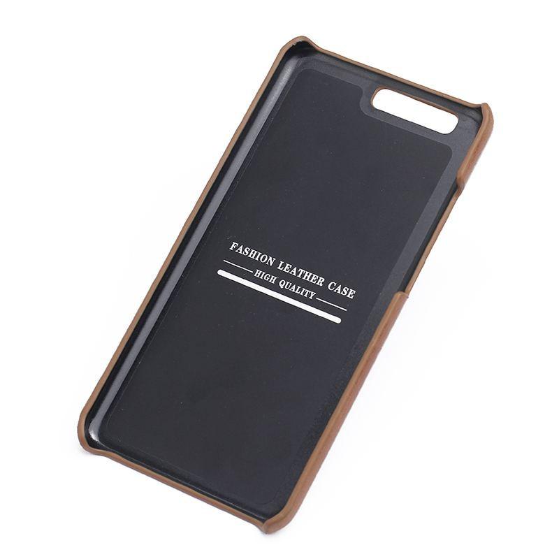Äkta läderfodral till Huawei P10 Plus fodral Frostad bakomslagskydd - Reservdelar och tillbehör för mobiltelefoner - Foto 6